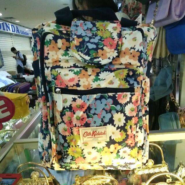 (NEW) Cath Kidston 3in1(selempang,tenteng,backpack)