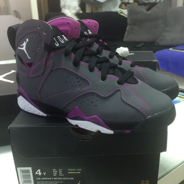 NIKE AIR JORDAN 7 RETRO 30TH GG 灰紫情人節