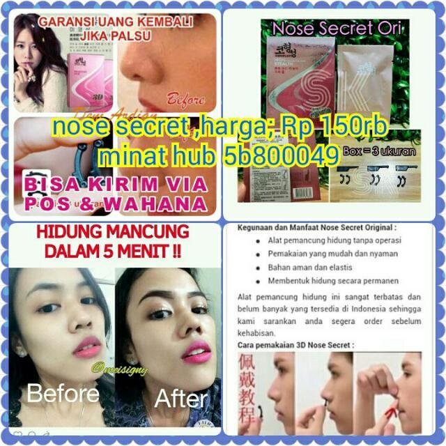 Nose Secret Alat Pemancung Hidung Hasil Permanen, Health & Beauty on Carousell