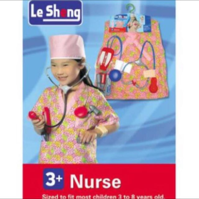 Nurse Play Set And Costume For Kids