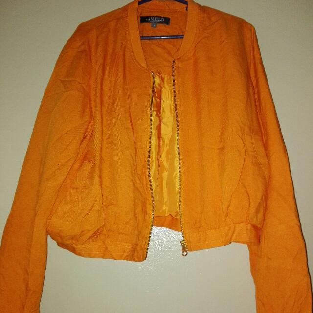 orange Limited jacket