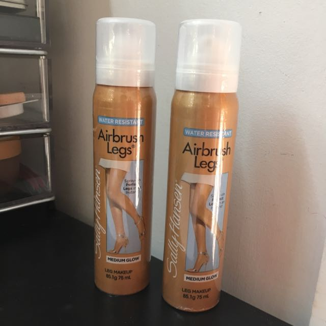 Sally Hansen Airbrush Legs In Medium Glow Health Beauty Skin