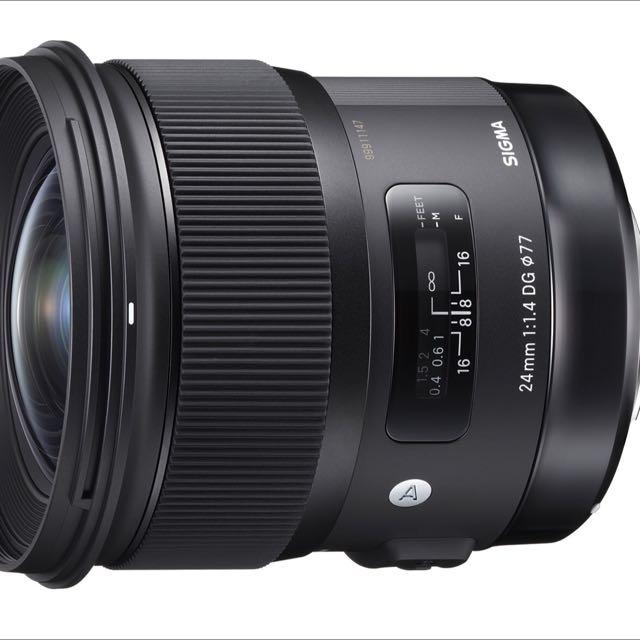 Sigma (Canon mount) 24mm F1.4 Art