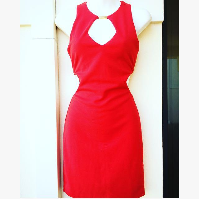 Size 10 AsosPetite Red Dress