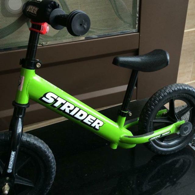 美國STRIDER幼兒滑步平衡車-