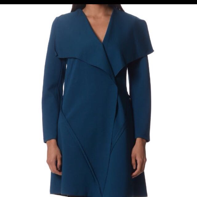 Teal Fay Browne Coat Size 8