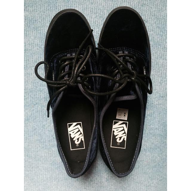 🔥VANS 厚底鞋9.9成新 25cm