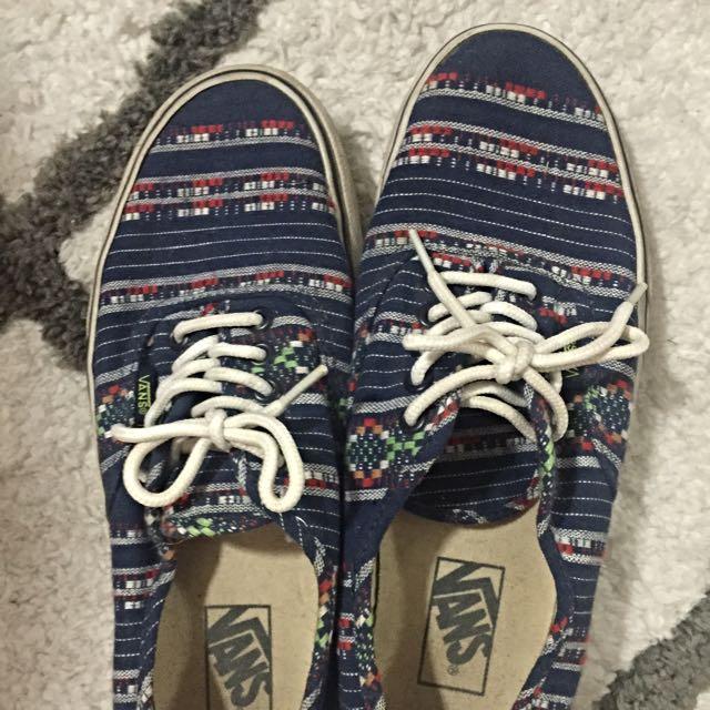 Vans Guate Stripe Authentic Shoes