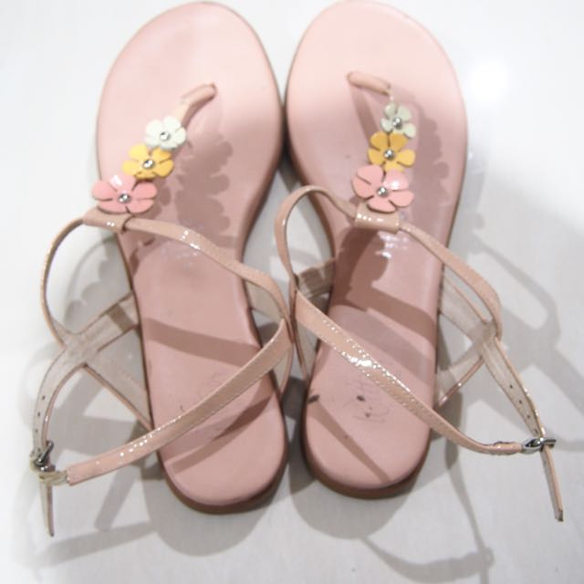 FREE Wittner Floral Sandals