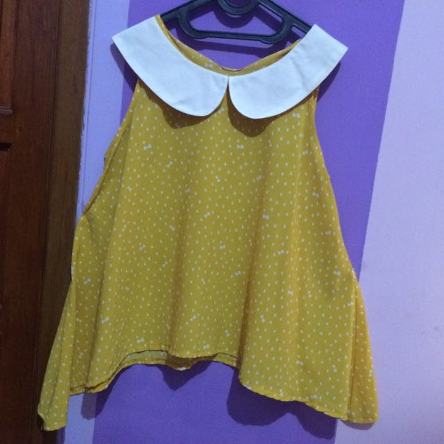 Yellow Tees Sleeveless
