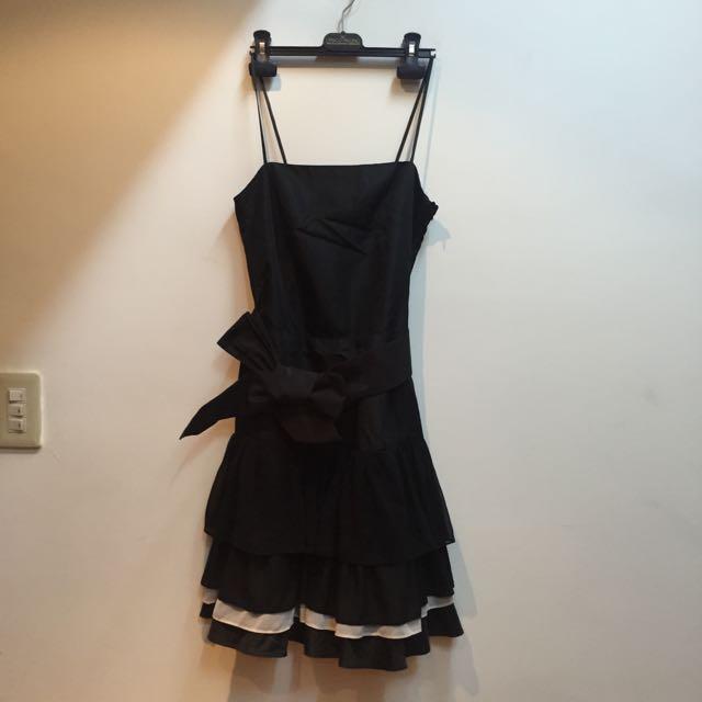 Zara黑色小禮服