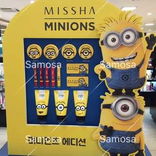 <Missha X MINIONS 小小兵> ❤️現貨❤️