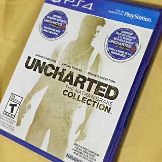 Uncharted Collection PS4 *RESERVED*