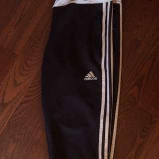 greyish black adidas pants