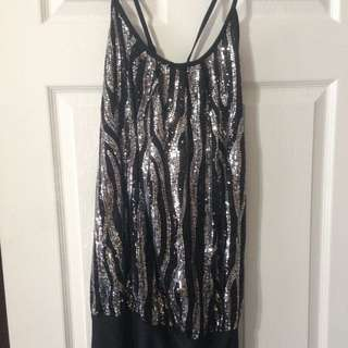 Strappy Sparkle Dress