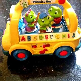 Leap Frog Phonics Bus