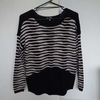 High Low Knit Jumper