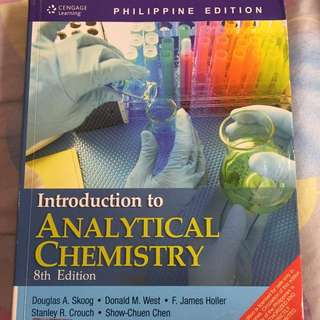 Introduction To Analytical Chemistry 8th Ed