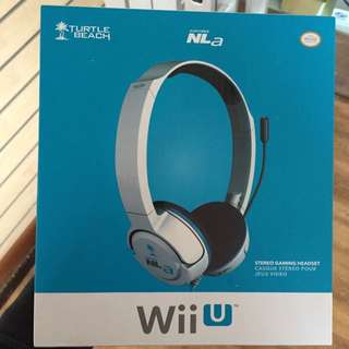 Turtle Beach ear Force NLa For Wii U