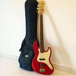 2002 Fender Jazz Bass Guitar