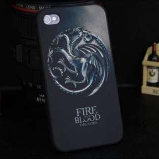 👑Game Of Thrones Targaryen iPhone Case