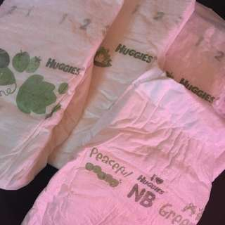 RESERVED-BLESSING/HUGGIES NB DIAPERS