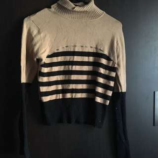 Beige Long Sleeve Top