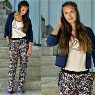 Mango Casual Printed Pants
