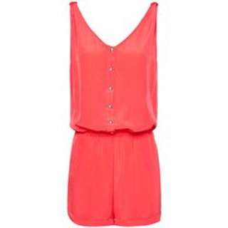 Arden B Linen Button Front Playsuit