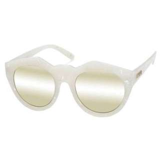 White Marble and Gold Le Specs