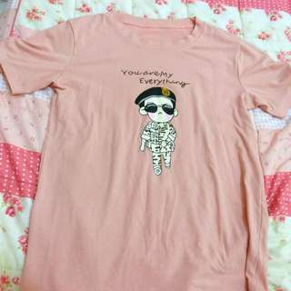 太陽的後裔劉大尉💘粉色上衣
