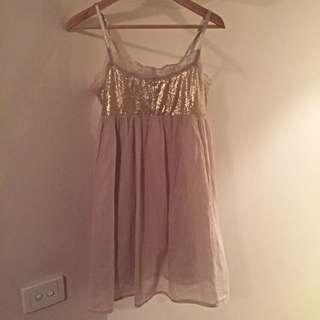 Zara Baby doll Dress M
