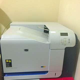 HP CP3525DN Colour Laser Printer (no Toner)