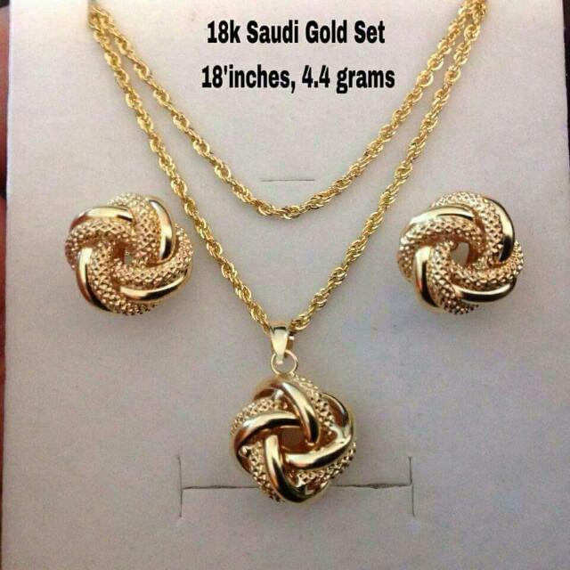 18k Saudi Gold21k Saudi GoldJapan And Italy Preloved Womens