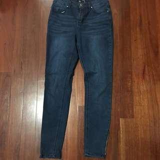 Jay Jays Size 9 Zip Jeans