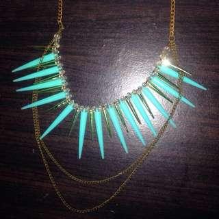 Aqua Fancy Necklace