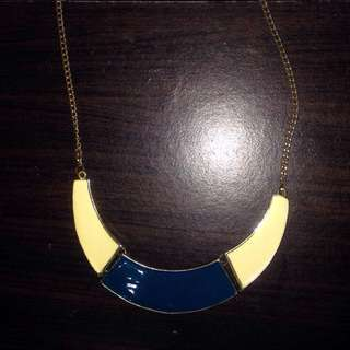 Blue And White Fancy Necklace