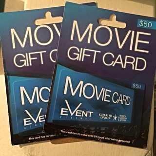 Event Cinema Vouchers