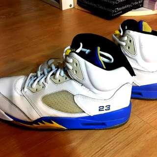 (降價)Aj5 Air Jordan 5 Laney 藍尼 高中