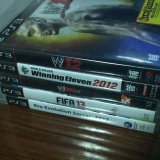 WTS PS3 Games