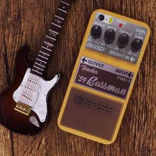瑕疵品 iPhone 6\6s 仿Fender 59 Bassman效果器\手機硬殼