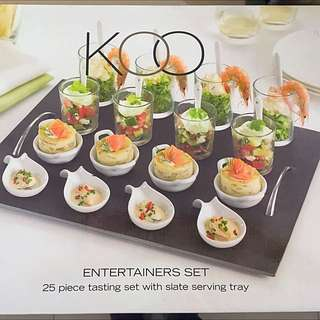 KOO ENTERTAINERS SET