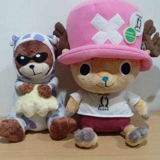 限定 2011喬巴 娃娃 Mr.13 金證 日本帶回 海賊王 航海王