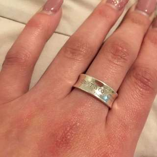 100% Real Tiffany & Co Ring, excellent condition