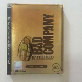 PS3 Games - Bad Company Battlefield