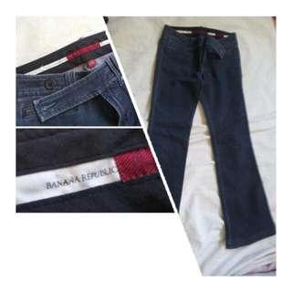 Banana Republic Wide Leg Denim Jeans