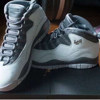 Air Jordan 10 London City Pack US Size 9