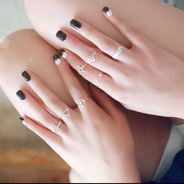 限時特價)925純銀戒指
