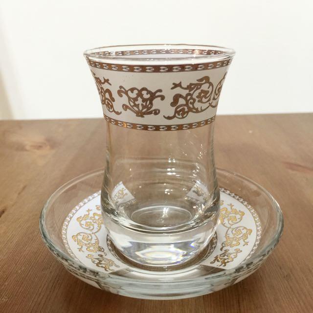 土耳其購玻璃茶杯組