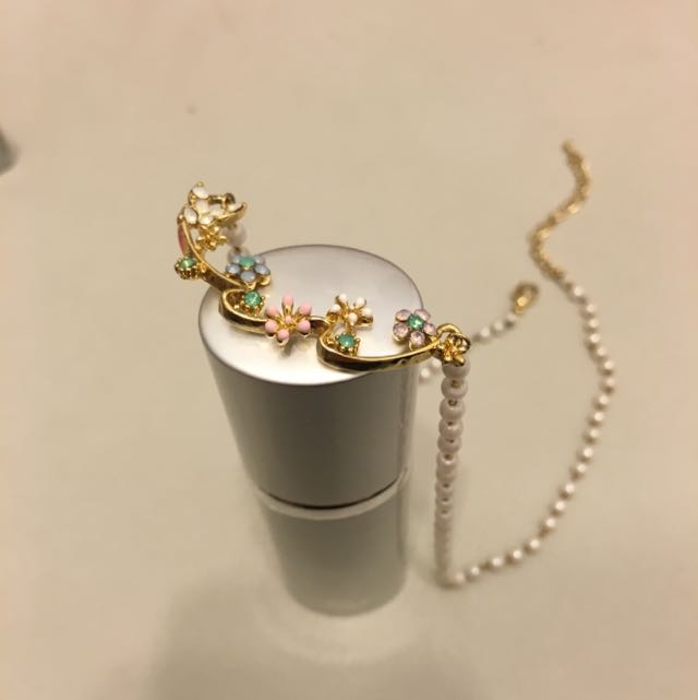 雕花精緻珍珠項鍊